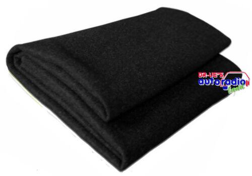 Haut-parleur-Boxe habillage anthracite aiguille Feutre Tapis 150x100cm Heckablage