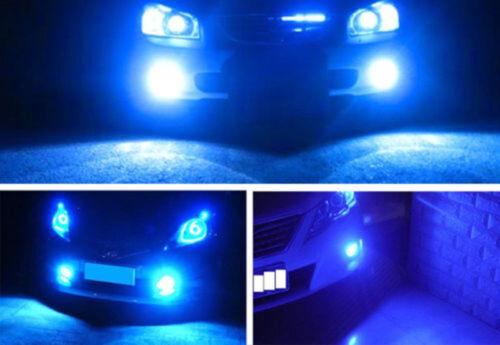 6Pc Ice Blue LED Headlight Bulb and Fog Light FOR NISSAN MAXIMA MURANO 2009-2014