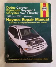 haynes repair manual dodge caravan plymouth voyager and chrysler rh ebay com 2003 Town and Country Problems 2013 Town and Country Diagrams