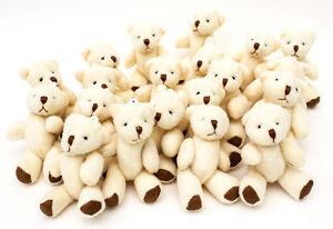 Lot De 48 X Adorables Petits Oursons En Peluche - Parfaitement Neufs Cadeau
