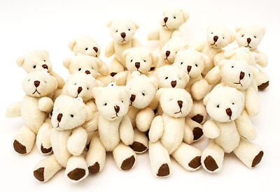 NEW - Cute And Cuddly Little Teddy Bears X 20 - Gift Present Birthday Xmas