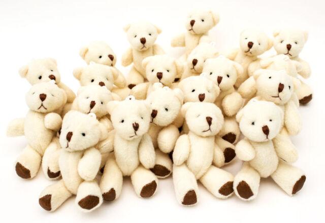 35 Stück Neu - Süßer Kleiner Weicher Teddybär - Geburtstag Geschenk Präsent