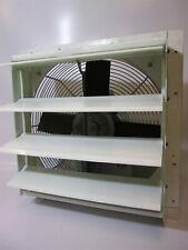 16 Corrosive Atmosphere Corrosion Resistant 115v Shutter Mount Exhaust Fan