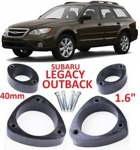 Lift Kit For Subaru Legacy Outback 2003 2009 1 6 40mm Leveling Strut Spacers Ebay