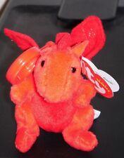 Ty Y DDRAIG GOCH the Dragon KEY CLIP (Original 2012 Version) Beanie Baby UK EXCL
