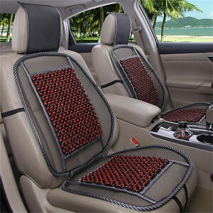 Image Is Loading Wooden Beads Car Seat Cushion Monolithic Pads