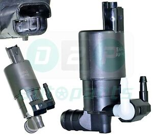 FOR-RENAULT-CLIO-KANGOO-LAGUNA-MEGANE-SCENIC-TRAFIC-TWIN-OUTLET-WASHER-PUMP