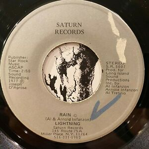 "fuzz psych crossover soul funk 7"" LIGHTNING Rain ♫ Mp3 Saturn Records 1977"