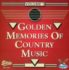 Golden Memories of Country Music, Vol. 1 by Various Artists (CD, 2012, Gusto Records)