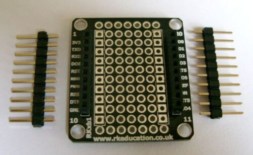 RKxb1 Breakout PCB for XBee Modules Great for Arduino, PIC PICAXE & Raspberry PI