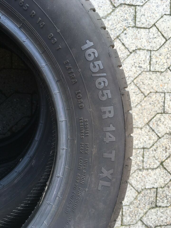 Sommerdæk, Continental, 165 / 65 / R14