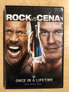 WWE - Rock vs Cena - Once in a Lifetime (DVD, 2012) - F0317