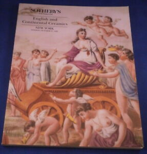 Sotheby-Catalog-English-and-Continental-Ceramics-1992-Reference-Book-Porcelain
