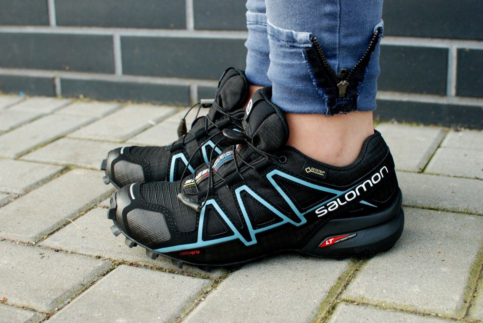 Salomon Speedcross 4 GTX 383187 señora zapatillas calzado deportivo Trail trekking 2018
