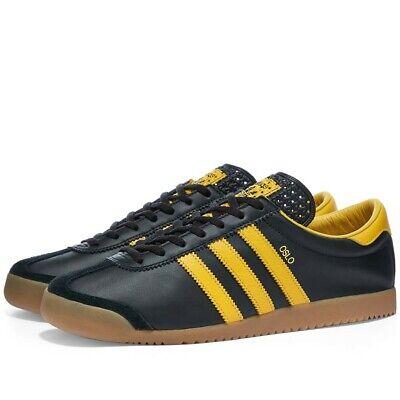 Adidas Originals Oslo OG Black Trainers Uk 10 **Brand New In