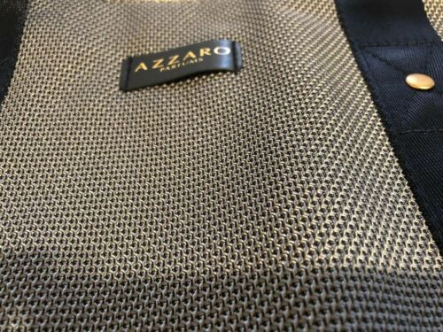Azzaro Parfum Gym Bag Cylinder// Weekend// Travel// Duffel Bag