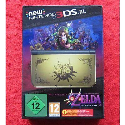 New Nintendo 3DS XL Konsole Zelda Majora´s Mask 3D Limited Edition Pack, Neu-OVP