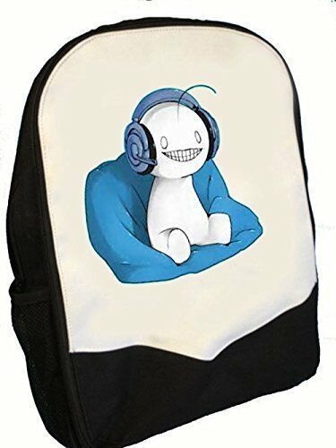 BMS CRYAOTIC BACKPACK PERFECT FOR BACK TO SCHOOL CUTE ALIEN AND HEADPHONES