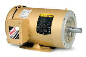 Cem3554t 1 1 2 Hp 1760 Rpm New Baldor Electric Motor