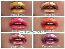 6 Waterproof Long Lasting Nude Matte Liquid Lipstick Metallic Colors Lip Gloss