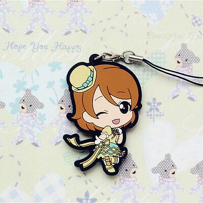 Love Live Mascot Rubber Strap Keychain Charm Stage Costume~ Koizumi Hanayo@13641