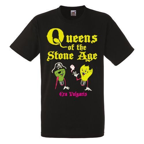 QUEENS OF THE STONE AGE ERA VULGARIS T-shirt Rock Band Shirt Heavy Metal Tee