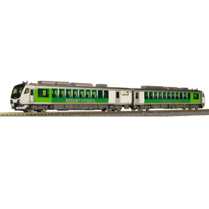 Kato-10-1368-JR-Diesel-Train-Series-HB-E300-Resort-View-Furusato-2-Cars-Set-N