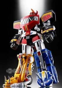 Mighty Morphin Power Rangers Chiffres Pack Diecast Chogokin Gx-72 Megazord 26cm