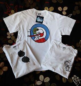 8d6d9e70 Peanuts Snoopy X UNIQLO Bundle Set 3/Men's T Shirt Dead Stock Cool ...