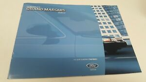 2002 & 2003 FORD GRAND MARQUIS Sales Brochures from MEXICO