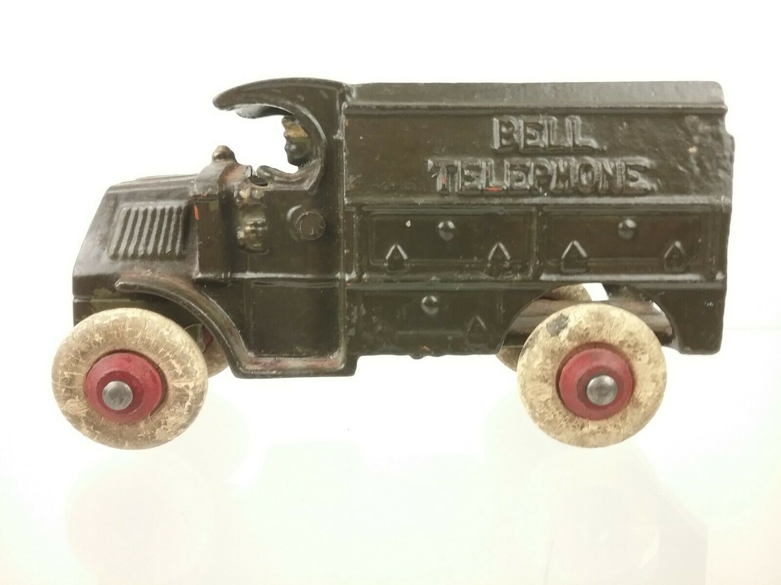 Authentic Vintage Die-cast Toy Truck - Bell Telephone Truck (Green)