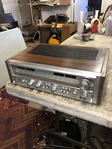 Vintage Pioneer AM/FM Stereo Receiver Model SX-880 good shape, working