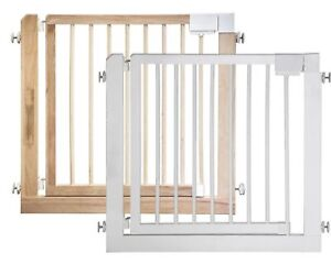 ib style® KOLBY barrera de seguridad reja de proteccion de madera puerta