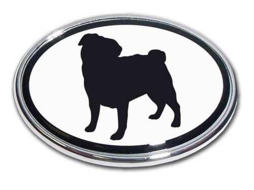 *NEW* Pug Chrome Car Truck Emblem High Quality Made in the USA