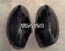 E90 E91 06-08 335i 328i SEDAN WAGON Dry Carbon Fiber Side Mirror Cover Caps