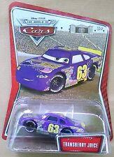 Disney Pixar Cars TRANSBERRY JUICE # 63 WOC Nuovo in Blister. Card molto buona !