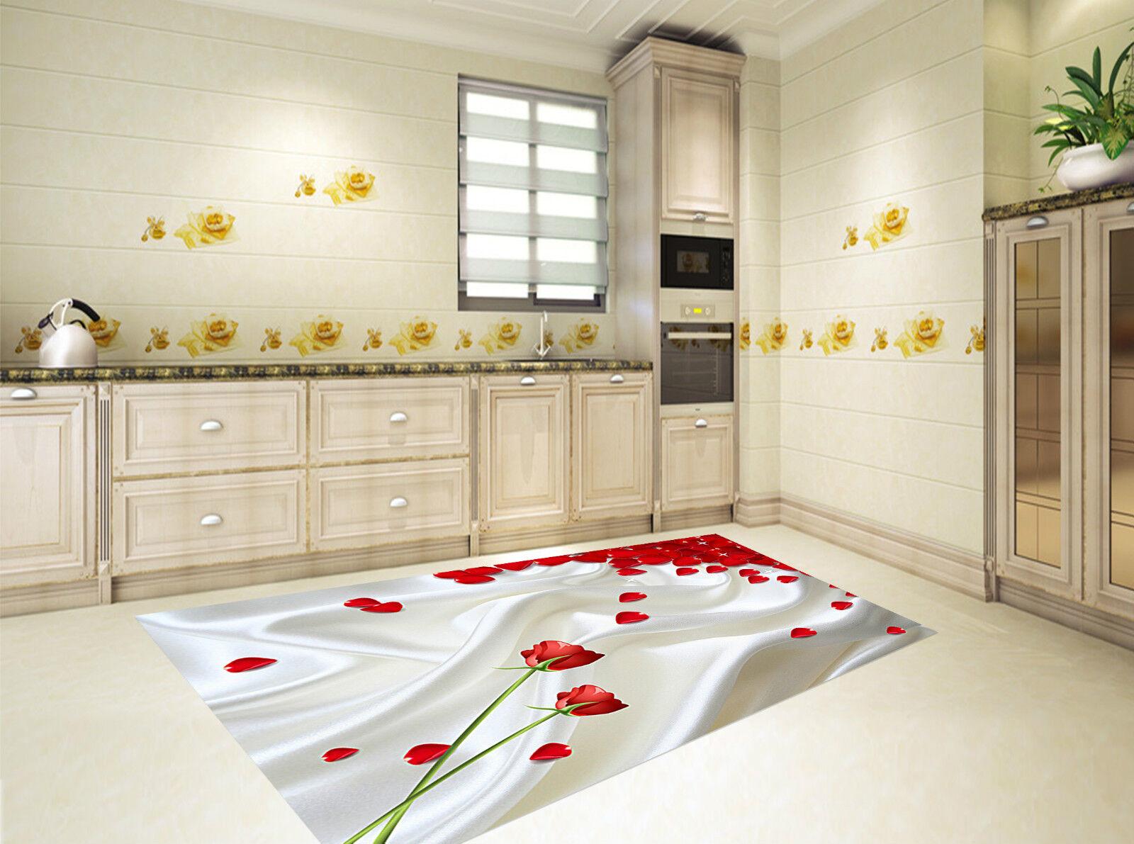 3D Fleurs Pétales Soie 242 Décor Mural Mur Murale De Mur Mural De Cuisine AJ WALLPAPER FR 5ba078