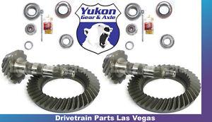 Yukon Jeep Wrangler JK Ring And Pinion Install Gear Pkg 07-15 Dana