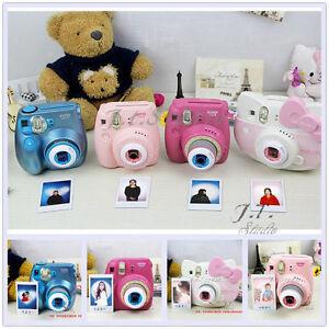 New 2 Colors Close Up Lens For Fujifilm Instax Mini 7S/8 Mini Hello Kitty Camera