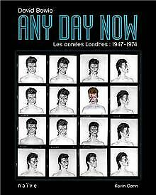 David-Bowie-Any-Day-Now-Les-annees-Londres-1947-Book-condition-good