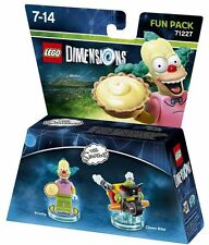 Figurine LEGO Dimensions Krusty le Clown Les Simpsons FUN PACK 71227