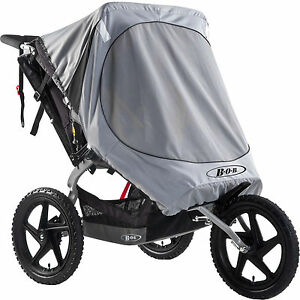 Britax-Bob-Utility-Ironman-Double-Buggy-Stroller-Cover-Wind-Shield-Sun-Visor-New
