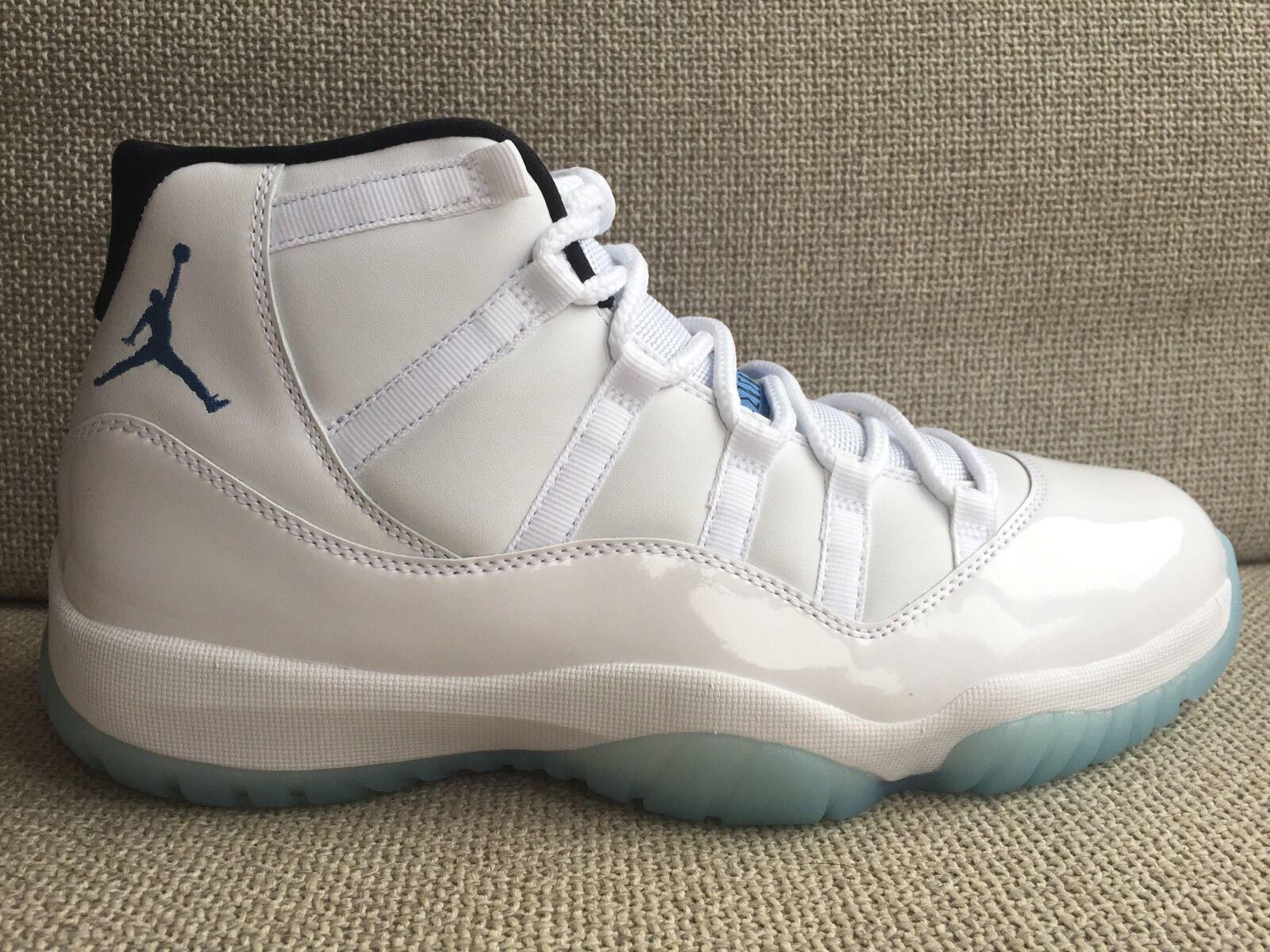 Nike Air Jordan XI 11 Retro Legend Blue/White 2014 Size 10.5 DS 378037-117