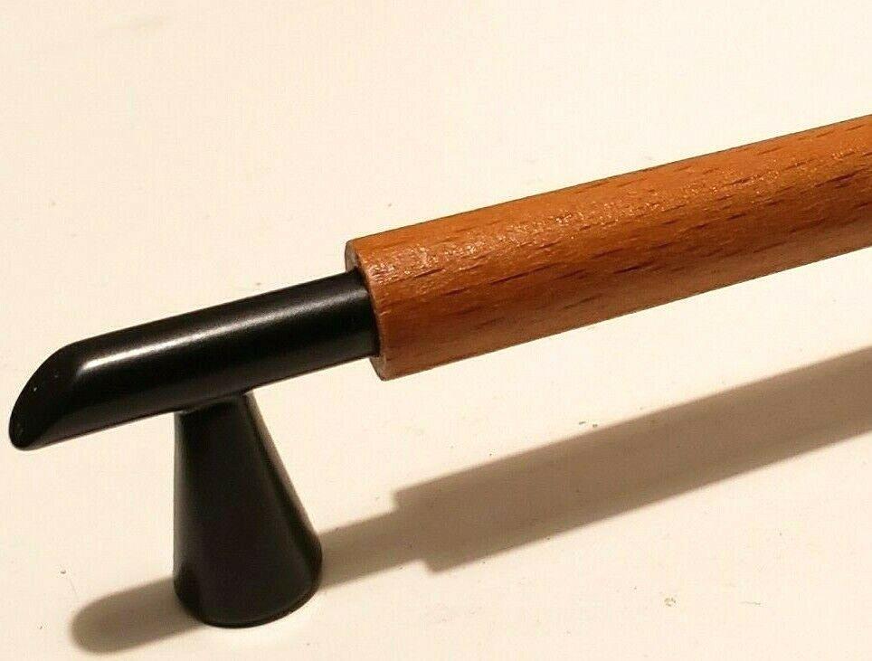 """5/"""" Carved Desk Pull Antique Wood Desk Drawer Pulls Handles Wood Cabinet Pulls"""