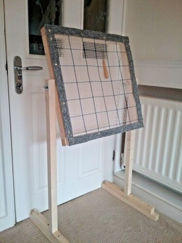 Punch needle frame  and stand KIT Rug hooking frame
