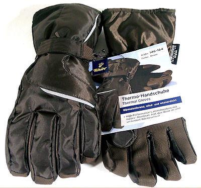 TCM Tchibo Kinder Thermo Handschuhe Wärmeisolierend Wasserdicht 122-140 146-164