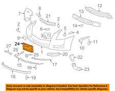 Cadillac GM OEM 08-14 Escalade-License Plate Bracket Mount Holder 25782363