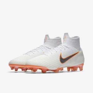 202b0fd3564 Nike Jr Mercurial Superfly 6 Elite FG Soccer Cleats Sizes 6y Black Ah7340  081