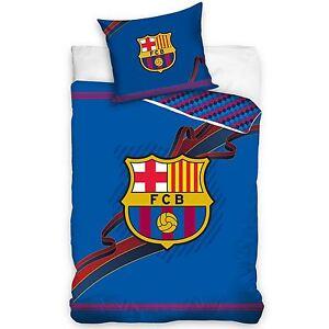 FC-Barcelona-Set-Housse-de-Couette-100-Coton-Neuf-Reversible