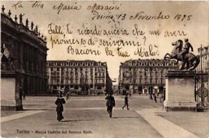 CPA-Torino-Piazza-Castello-dal-Palazzo-Reale-ITALY-542194